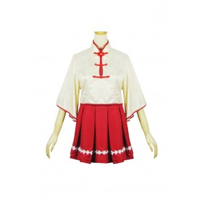 Vocaloid 3 Cosplay Yue Zheng Ling Costume