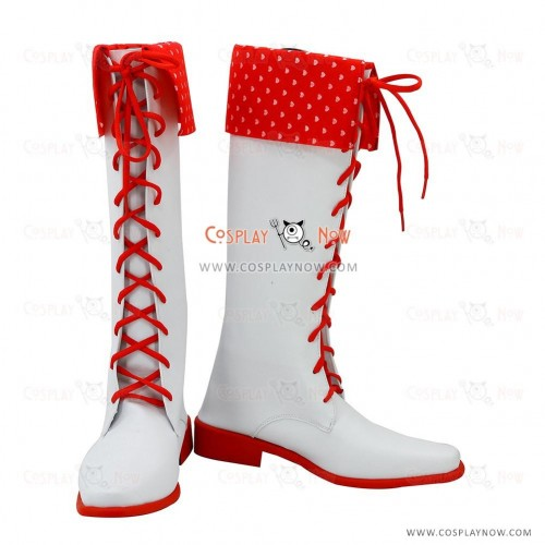 The Idolmaster Cosplay Shoes Amami Haruka Boots