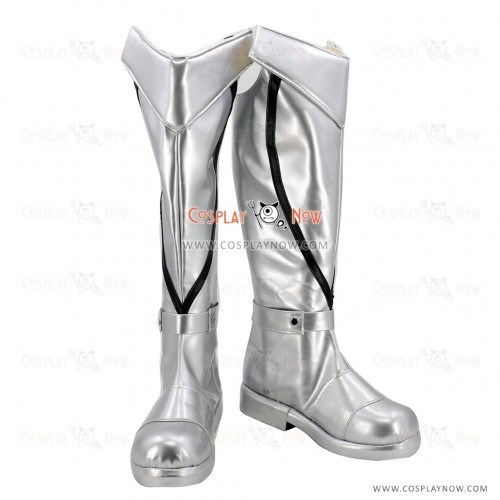 Fate Grand Order Cosplay Shoes Saber Bedivere White Boots