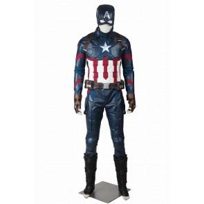 Captain America 3 Steve Rogers Cosplay Jumpsuit