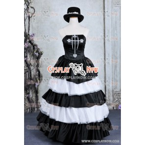 One Piece Cosplay Ghost Princess Perona Costume