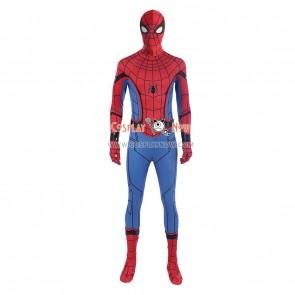 Spider Man Cosplay Costume Peter Benjamin Parker Costume Jumpsuit