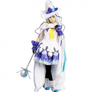 Vocaloid Snow Miku Cosplay Costume Lovely Dress