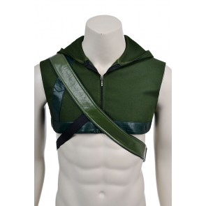 Oliver Queen Costume For Green Arrow Cosplay