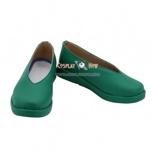 Cardcaptor Sakura: Clear Card Syaoran Li Green Cosplay Shoes
