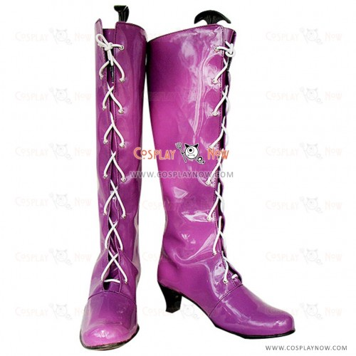 Sailor Moon Tomoe Hotaru Cosplay Boots Custom Made