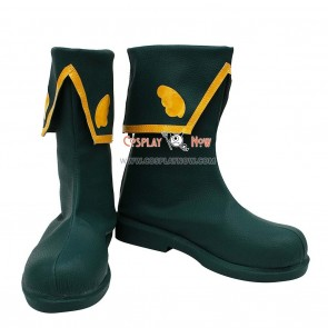 Cardcaptor Sakura Cosplay Shoes Syaoran Li Show Boots