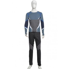 Quicksilver Pietro Maximoff Costume For Avengers Age of Ultron Cosplay