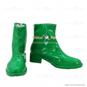 JoJo's Bizarre Adventure Stardust Crusaders Noriaki Kakyoin Green Cosplay Shoes