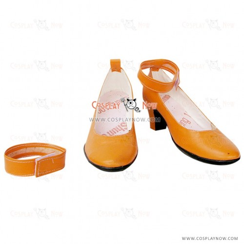 Sailor Moon Aino Minako Sailor Venus Cosplay Shoes