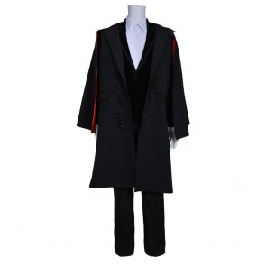 The Third Doctor Who is 3rd Dr Jon Pertwee Costume For Doctor Who Cosplay