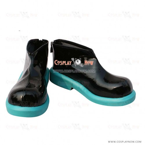 Vocaloid Hatsune Miku Black Cosplay Shoes Custom Made
