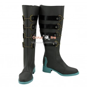 God Eater Cosplay Shoes Livie Collete Boots