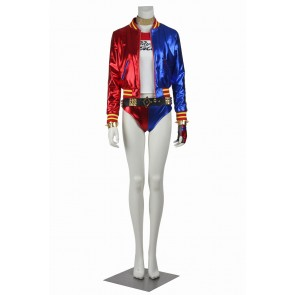 Harley Quinn For Suicide Squad Cosplay Uniform