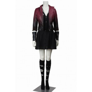 Scarlet Witch Wanda Maximoff Costume For Avengers Age Of Ultron The Avengers 2 Cosplay
