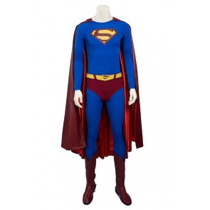 Superman Clark Kent Costume For Superman Returns Cosplay