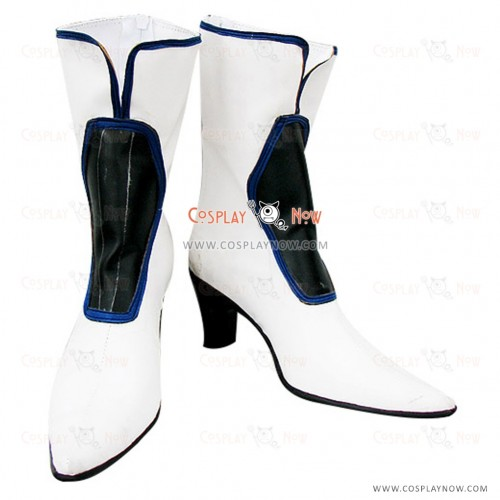 Guilty Gear Cosplay Shoes Dizzy White Boots