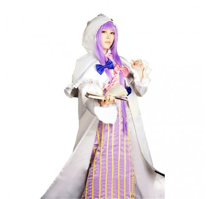 Touhou Project Cosplay Patchouli Knowledge Costume