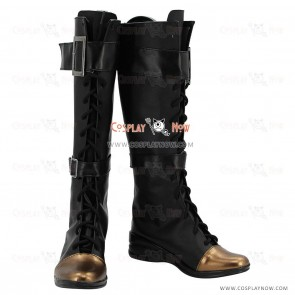 League of Legends Cosplay Shoes Sheriff of Piltover Caitlyn Blue Boots