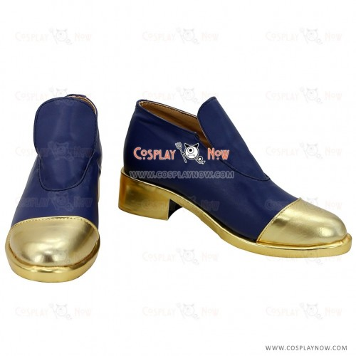 Touken Ranbu Cosplay Online Nakigitsune Tantou Black Shoes