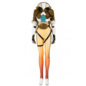 Tracer Lena Oxton Costume For Overwatch OW Cosplay