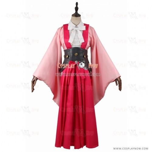 Kabaneri of the Iron Fortress Cosplay Ayame Yomogawa Costume