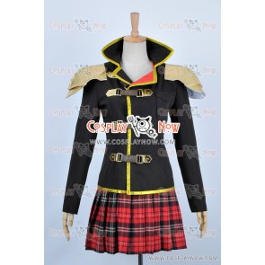 Final Fantasy Type 0 Seven Sebun Cosplay Costume