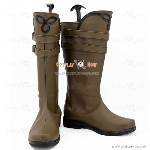 Devil May Cry 3 Cosplay Shoes Vergil Brown Boots