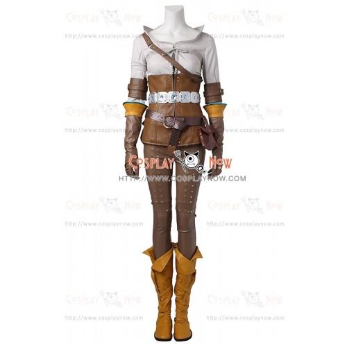 The Witcher 3 Wild Hunt Cosplay Cirilla Ciri Fiona Elen Riannon Costume