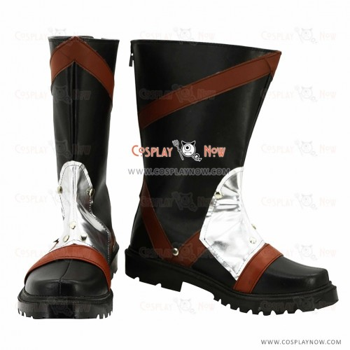 Final Fantasy Cosplay Shoes Auron Boots