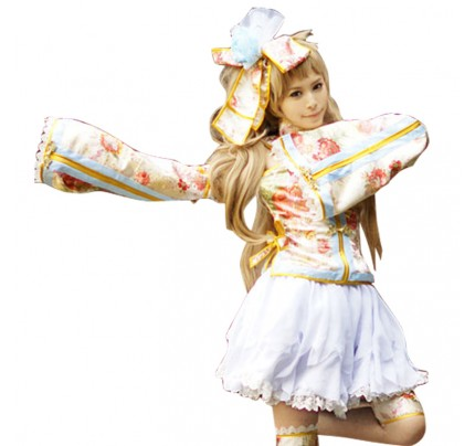 Love Live LoveLive Minami Kotori Cosplay Costume Print Dress
