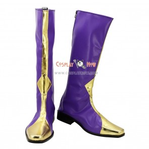 Code Geass Cosplay Shoes Lelouch Boots