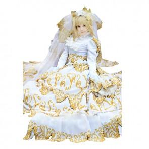 Tsubasa: Reservoir Chronicle Sakura Cosplay Costume Wedding Dress