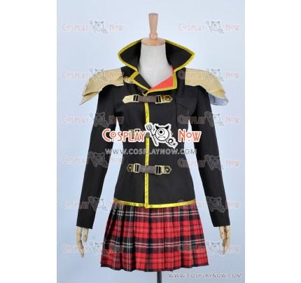 Final Fantasy Type 0 Seven Sebun Cosplay Costume