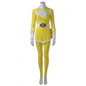 Mighty Morphin Power Rangers Cosplay Tiger Ranger Boy Costume Women Ver