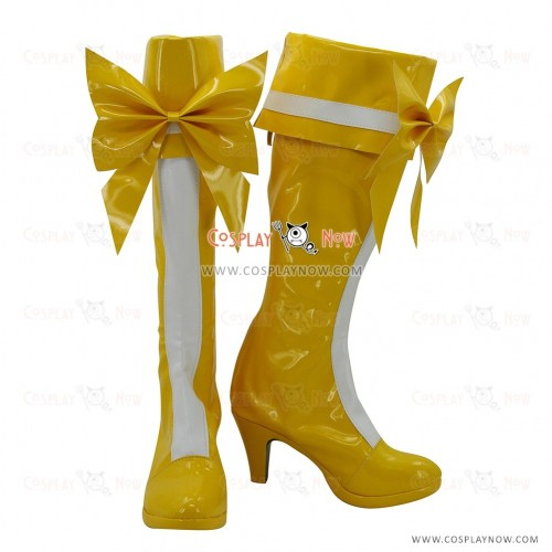 Pretty Cure Cosplay Shoes Ako Shirabe Boots
