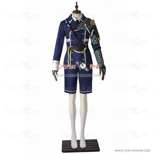 Atsushi Toushirou Costume Cosplay Touken Ranbu