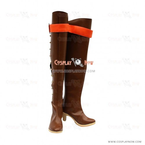 Shadow Hearts Cosplay Shoes Lady Boots