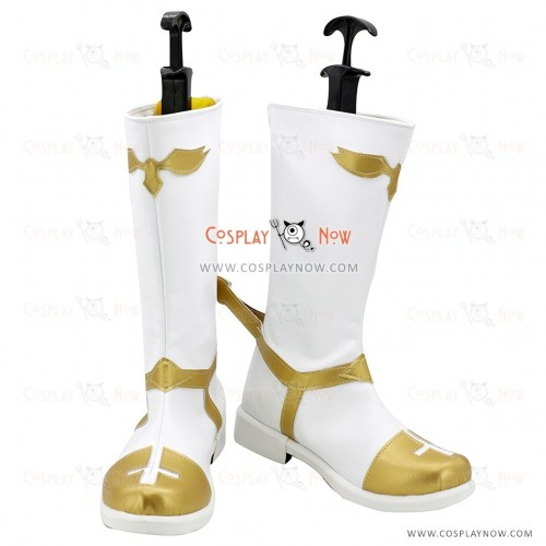 Fate Apocrypha Cosplay Shoes Rider of Black Astolfo White Boots