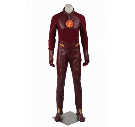 The Flash Season 1 Cosplay Barry Allen Costume