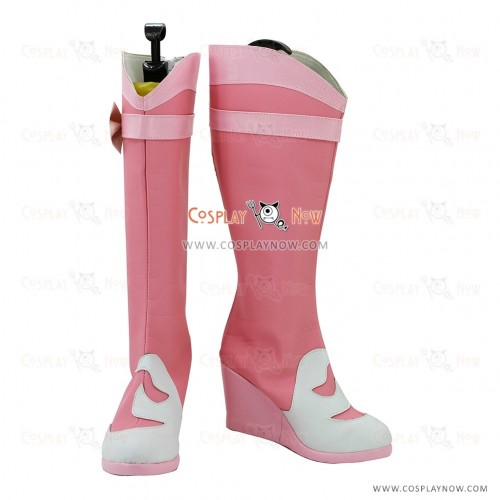 The Legend of Qin Cosplay Shoes Crimson Lotus Boots