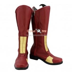 The Flash Cosplay Shoes Barry Allen Boots