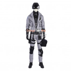Cyberpunk 2077 Cosplay Hero Costumes for Man