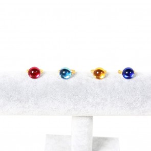 One Piece Sir Crocodile Rings Cosplay Props 4 a Set