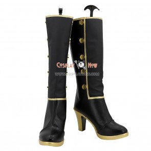 RWBY Cosplay Shoes Leader of Team CFVY Coco Adel Boots