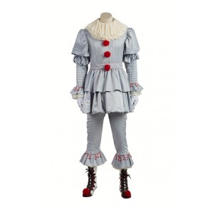 Stephen King's It Pennywise Joker Cosplay Costume
