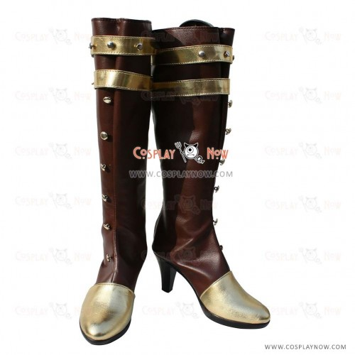 League of Legends Cosplay  Shoes Sheriff of Piltover Caitlyn Boots