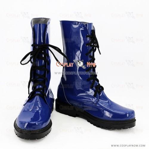 Utano Princesama Shining Live Cosplay Shoes Krosaki Ranmaru Boots