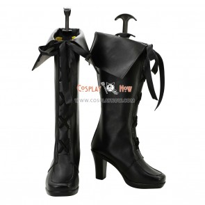 AKB0048 Cosplay Shoes Tomomi Itano Black Boots