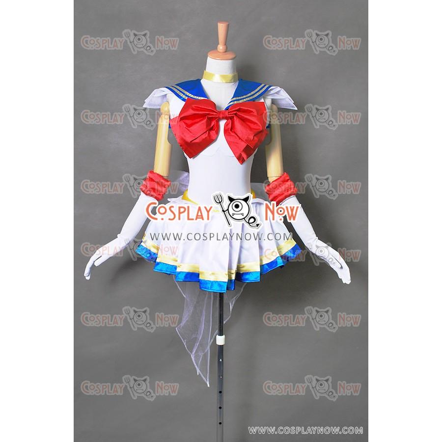 Sailor Moon Cosplay Usagi Tsukino Costume Sailor Uniform Dress High Quality New